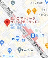 川口マッサージ「癒しランド」地図